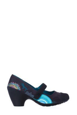 Desigual Women's Desires pumps. Beautiful Mary Janes that add a touch of colour to dull winter days. Heel height: 6 cm. / 2.3''