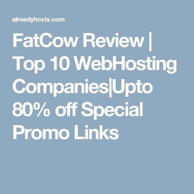 fatcow-reviews  Fatcow web hosting is in our top 10 web hosting reviews https://alreadyhosts.com/web-hosting-reviews/fatcow-reviews