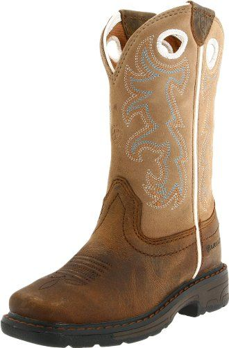 Ariat Workhog Square Toe Western Boot (Toddler/Little Kid/Big Kid) « Shoe Adds for your Closet