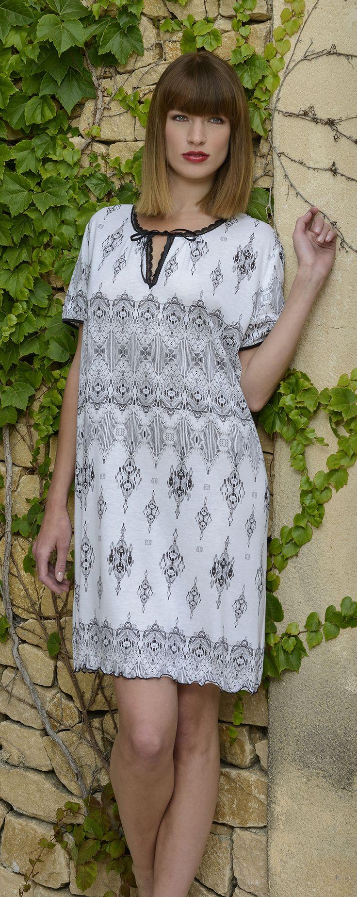 CYBÈLE Jaro-léto 2015 | Noční prádlo | Noční košile | Nightwear | Nightdress | www.naturana-plavky-pradlo.cz
