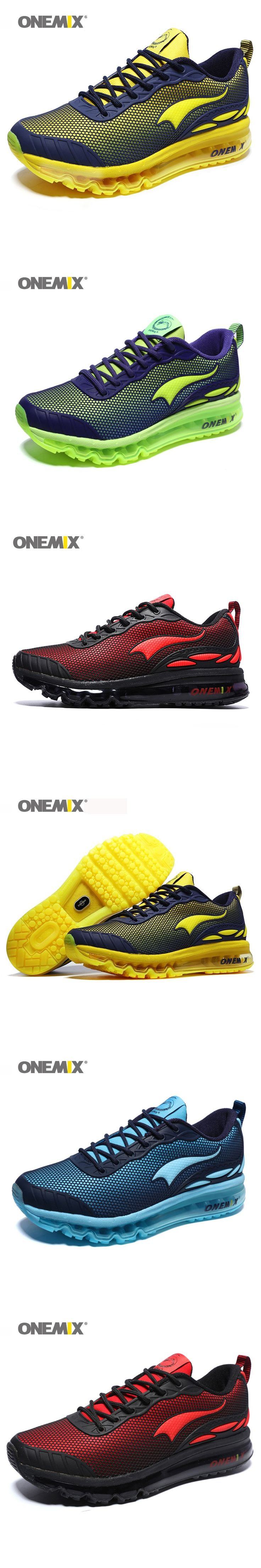 ONEMIX Man Running Shoes Max Size 12 Nice Trends Run Mesh Breathable Men Jogging Shoe Sport for Outdoor Walking Sneakers Cushion