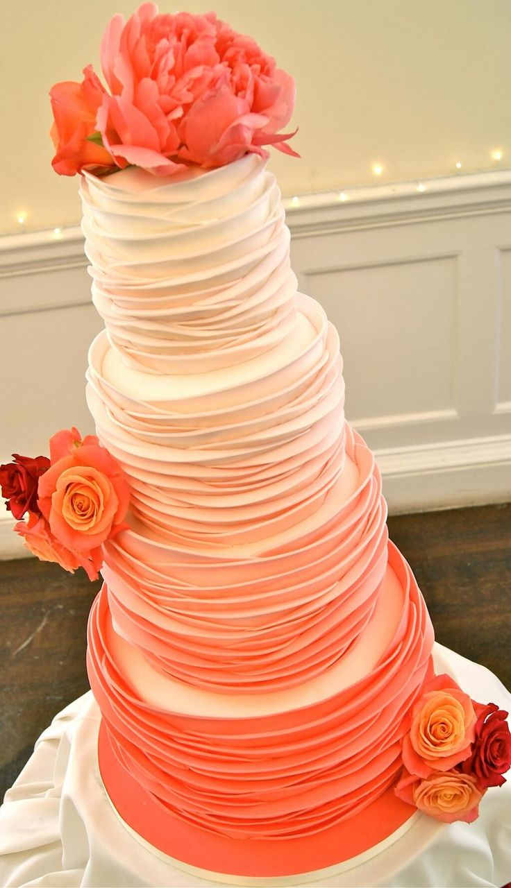 Coral riches cake - exquisite maybe a different color i don't know yet! but this cake is just gorgeous!!!!