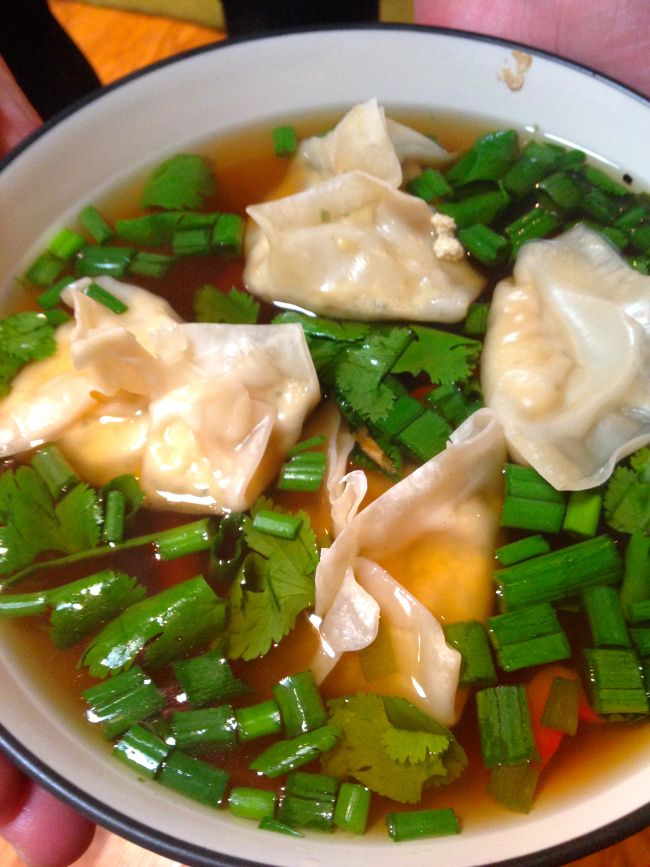 ... with bok spicy miso soup with bok choy wontons recipes dishmaps