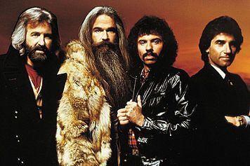 Oak Ridge Boys - One of the hottest gospel-turned-country groups of the 1970s! I saw them at my college in Point Lookout, MO.