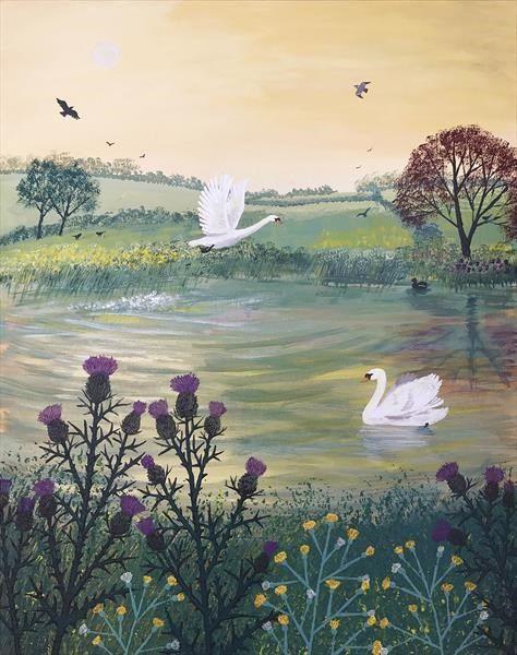 Morning Flight by Josephine Grundy