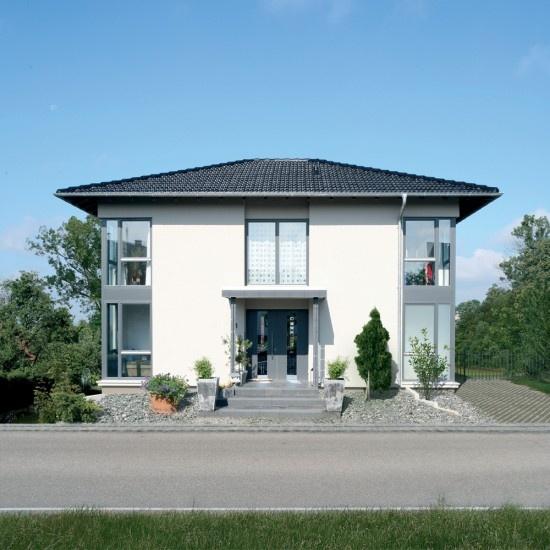 Fertighaus modern walmdach  Die 63 besten Bilder zu Häuser auf Pinterest | Haus, Bauhaus und ...