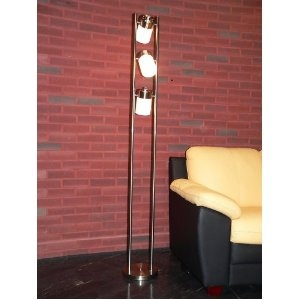 Contemporary Floor Lamp with 3 rotating lights (Office Product) - CLEARANCE!  http://www.modernwebmaster.com/modernweb.php?p=B002HFRFUE  B002HFRFUE