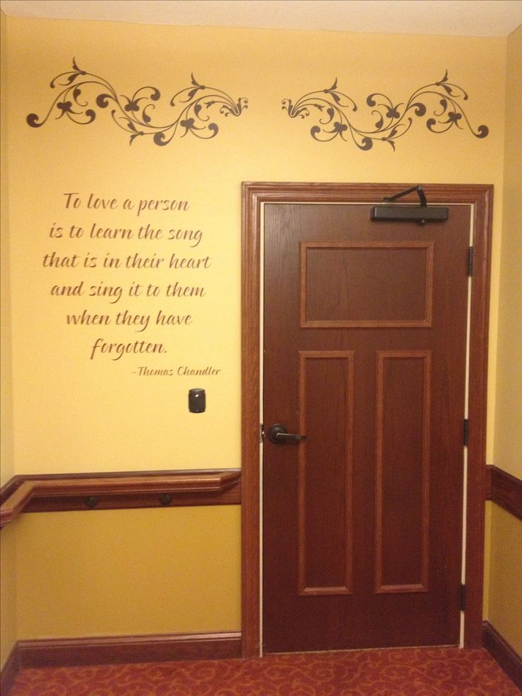 Love This! ♥ Beautiful saying for an assisted living facility. http://faith.uppercaseliving.net