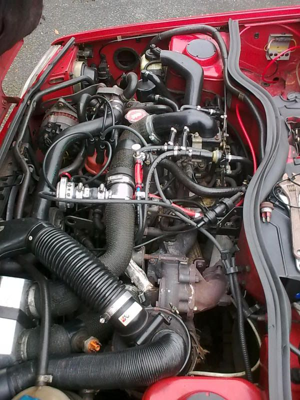 Renault 5 GT Turbo Phase 2 Engine bay