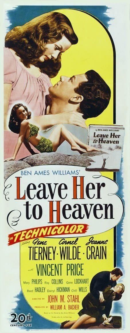 Que el cielo la juzgue -1945 Richard Harland (Cornel Wilde), un joven escritor…