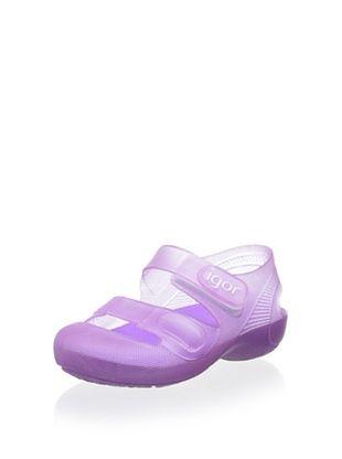 23% OFF igor Kid's Bondi Sandal (Lila)