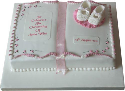 Christening Cakes Personalised Baptism Commemorative Cake Designers