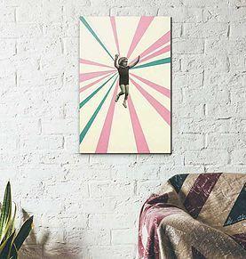 Un tableau décalé pour  les amoureux des photos rétros mises en exergue par un graphisme épuré. Il se glisse dans toute les pièces de la maison pour créer la surprise et susciter l'étonnement.  A partir de 20x30cm #photo #retro #graphisme #arty #chall #art #design #decoration #tableau