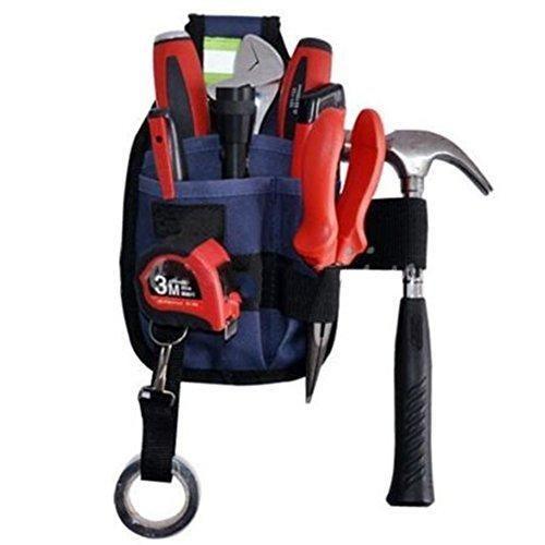Oferta: 8.99€. Comprar Ofertas de Bolsa de herramientas, bolsa de utilidad de electricista profesional, 3 herramientas de bolsillo titular, organizador de herr barato. ¡Mira las ofertas!