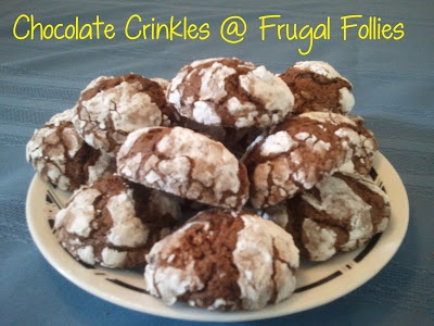 Chocolate Crinkles | Cheap Recipes | Pinterest