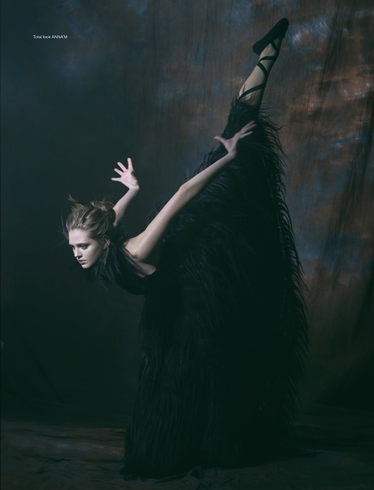 black swan: natalia bulycheva by vladimir vasilchikov for stolnick january 2016