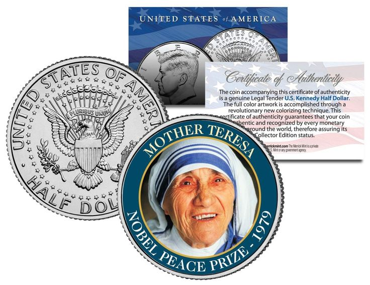 Nobelprijs voor de vrede 1979.