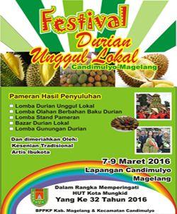 Festival Durian Unggul Lokal Candimulyo Festival Durian Unggul http://www.perutgendut.com/read/festival-durian-unggul-lokal-candimulyo/601 #PerutGendut #Durian #Event