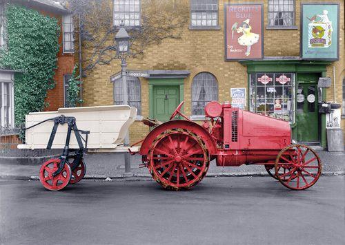 Vintage tractor - Stilltime Collection Prints - Easyart.com