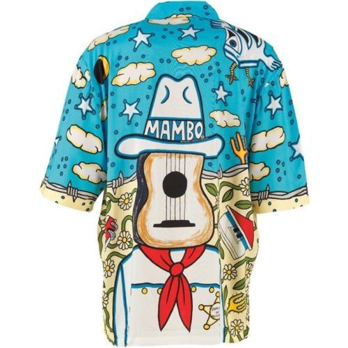 Mambo Loud Lairy Mens Shirt Sherriff Small Great for Holiday Beach | eBay