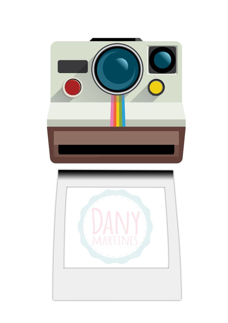 Molde Polaroid para Capa de Caderno - assista o tutorial: https://www.youtube.com/watch?v=cF4yvjbQgL0