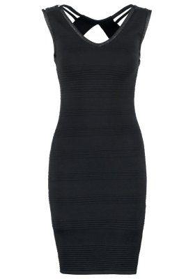 Strickkleid - noir
