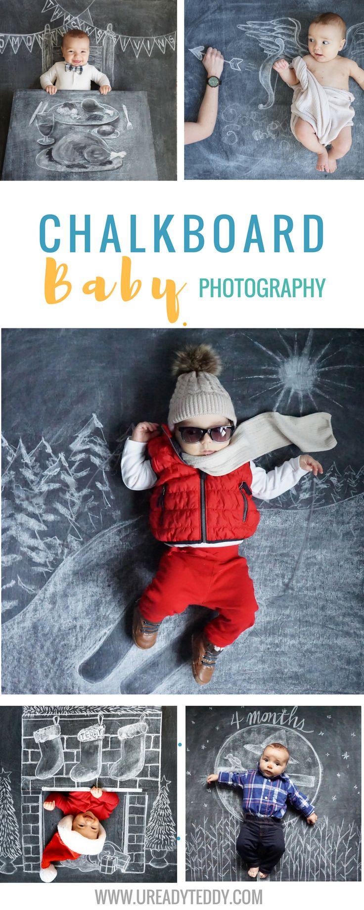Creative chalkboards. Chalkboard Baby photography art. Newborn Photography. Chalk Art. Baby Chalkboard. Monthly Baby Photos. Blackboard. Sidewalk chalk.