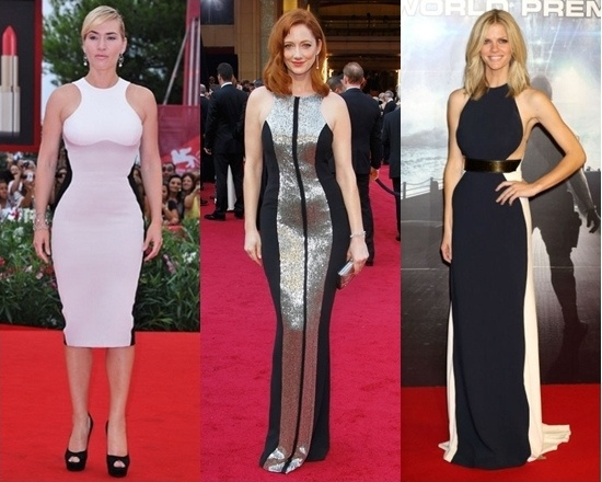 Celebrities Wear Optical Illusion Dresses