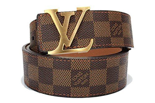 e8686bef384 Brown-Gold fashion leather metal buckle belt (110cm) | LV | Louis ...