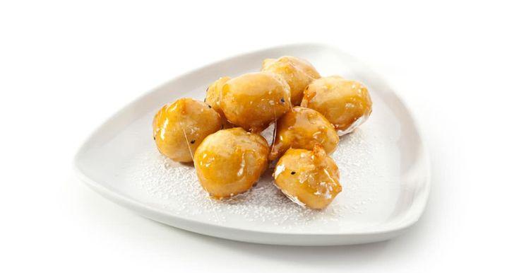Découvrez cette recette de Pommes chinoises au caramel de Gary pour 4 personnes, vous adorerez!
