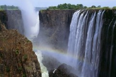 Zambezi River, Zambia and Mozambique: The Zambezi flows 2,700 kilometers through six African countries before it spills into the Indian Ocean, allowing for a large array of ways to explore the riverside life and beauty of Africa. Although it is the fourth-largest river in Africa, it's most popular spot by far is Victoria Falls, the world's largest waterfalls, and one of the Seven Natural Wonders of the World.    Nearly a million people visit the falls every year to witness the awe-inspiring…