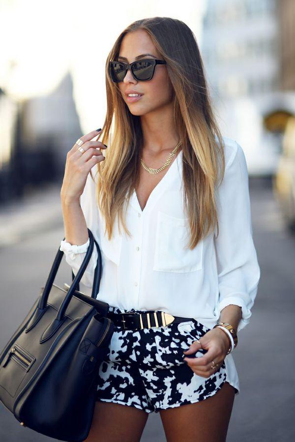 Musthave: witte blouse - Girlscene