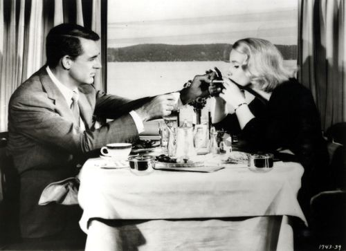 """North by Northwest, Eva Marie Saint, Cary Grant, Alfred Hitchcock 1959  """