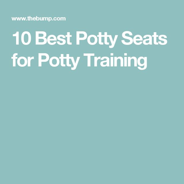 10 Best Potty Seats for Potty Training