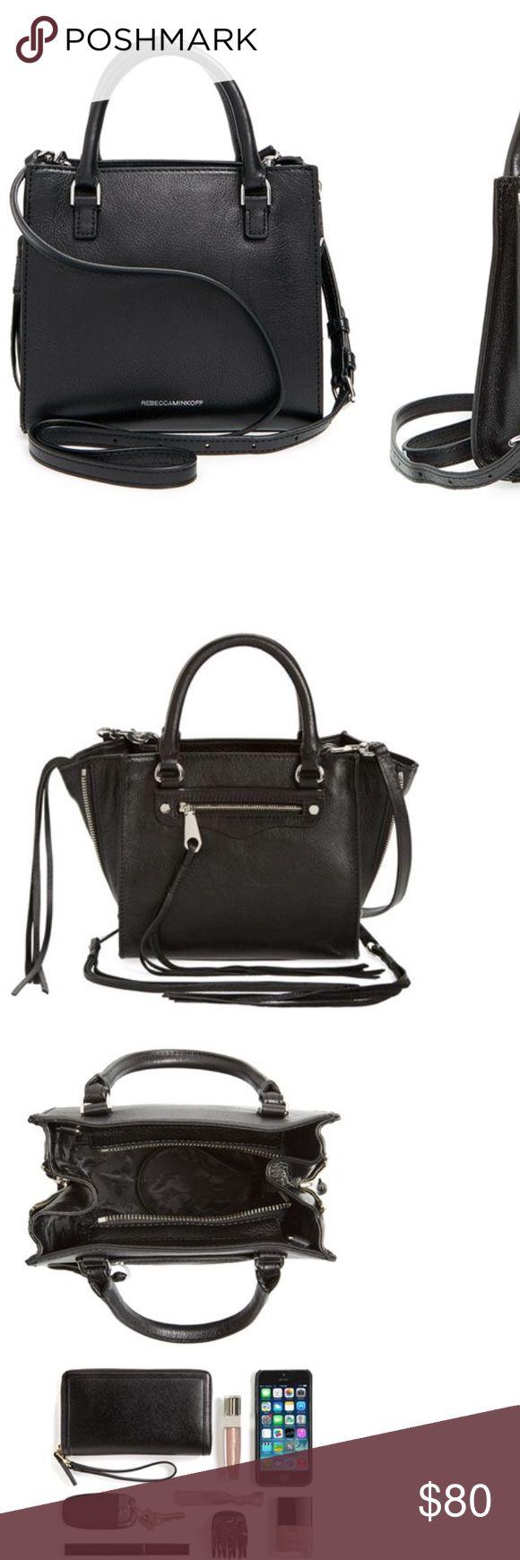 New// Rebecca Minkoff// Black leather mini purse New// Rebecca Minkoff// Black leather mini purse Rebecca Minkoff Bags Mini Bags