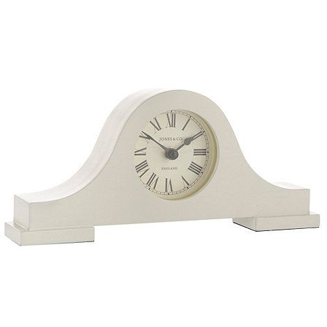 Jones Cream mantel clock   Debenhams