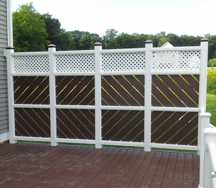 25 best ideas about deck privacy screens on pinterest for Outdoor deck privacy ideas
