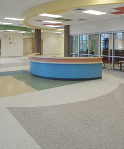 Terrazzo   Renaissance Academy, Virginia Beach, VA (side Angle To My  Office). School DesignVirginia ...