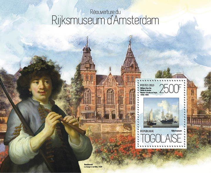 TG 13817 b – Reopening of the Rijksmuseum in Amsterdam, (Willem van de Velde the Younger).