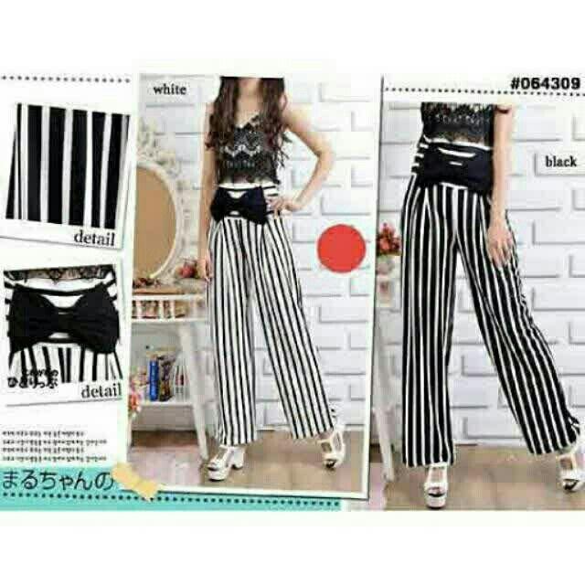 Saya menjual Alea Stipe Wide Pants seharga Rp155.000. Dapatkan produk ini hanya di Shopee! {{product_link}} #ShopeeID