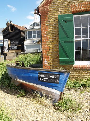 ~Whitstable is a seaside town in Northeast Kent, Southeast England. It is approximately 8 kilometres north of the city of Canterbury and approximately 3 kilometres west of the seaside town of Herne Bay. Wikipedia~