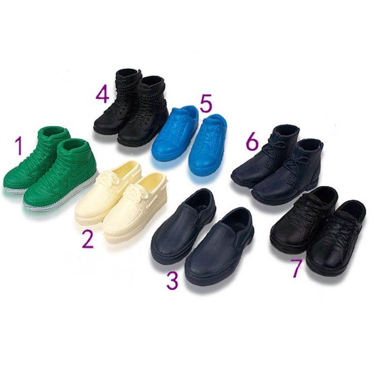 1 Пара Кукла Обувь Кроссовки Обувь Для Boyfriend Кен Принц Ken Мужской Куклы Аксессуары Для Barbie Младенца Высокого Качества игрушка #shoes, #jewelry, #women, #men, #hats, #watches