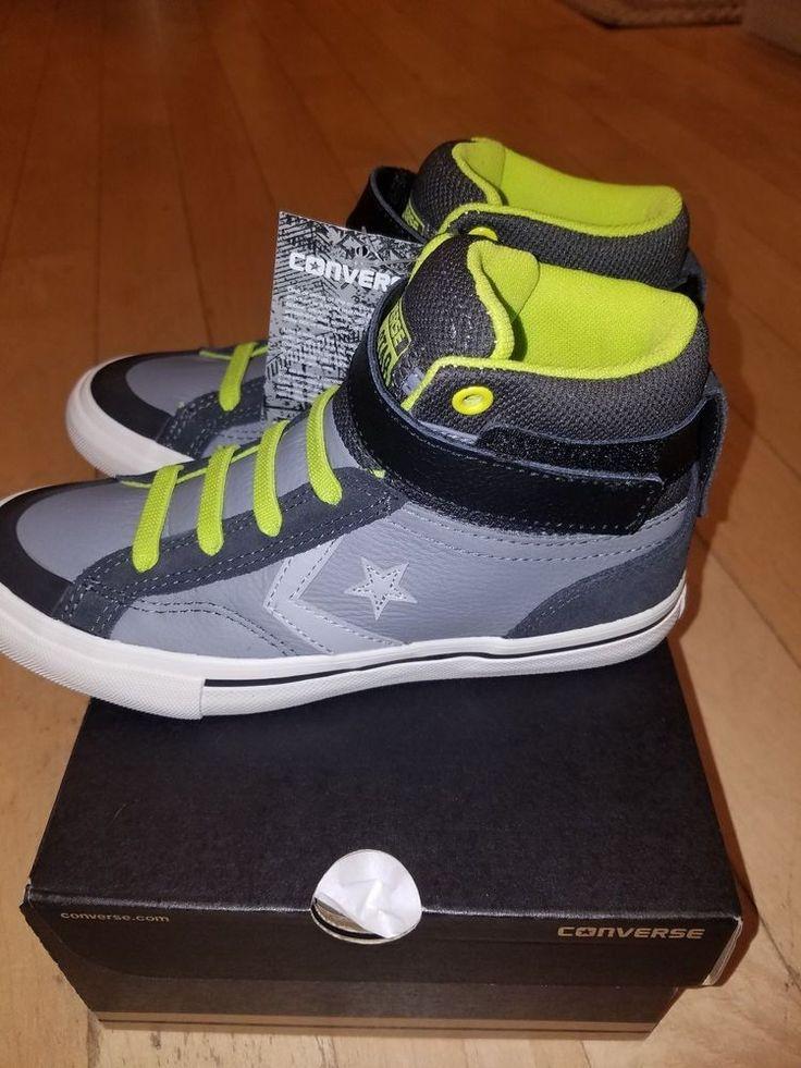 Converse all star pro blaze strap hi mason/beluga/bold lime boots shoes 3,  4, 5