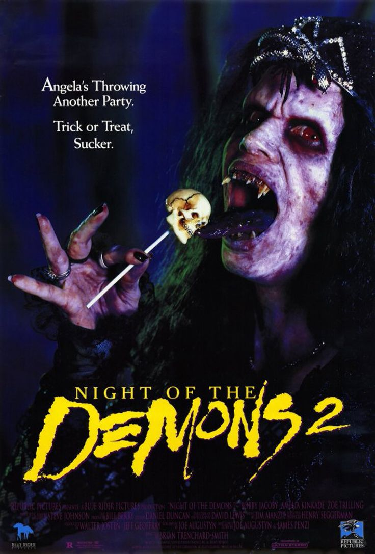 Night of the Demons 2 - Review: Night of the Demons 2 (1994) is a comedy horror movie that is the sequel to Night of the… #Movies #Movie