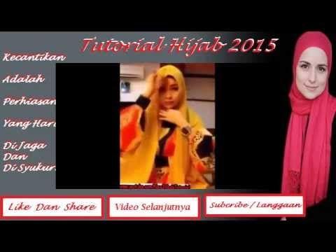 Tutorial Hijab 2015 ~ Cara memakai hijab paris simpel ala Nuri Maulida T...