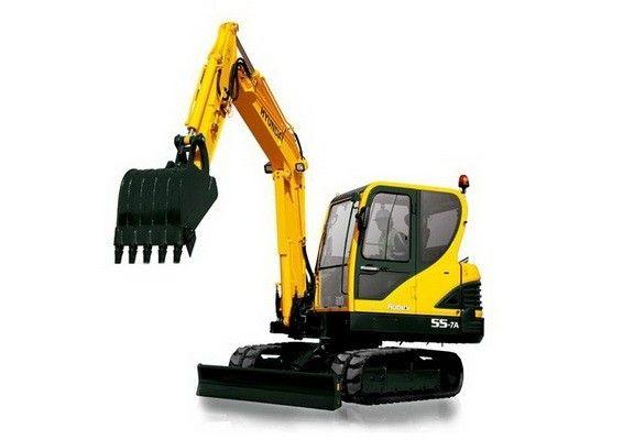 Hyundai R55 7a Mini Crawler Excavator Service Manual Hyundai Excavator Crawlers