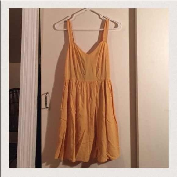 Mustard color dress Mustard colored dress.. NWT Forever 21 Dresses Mini
