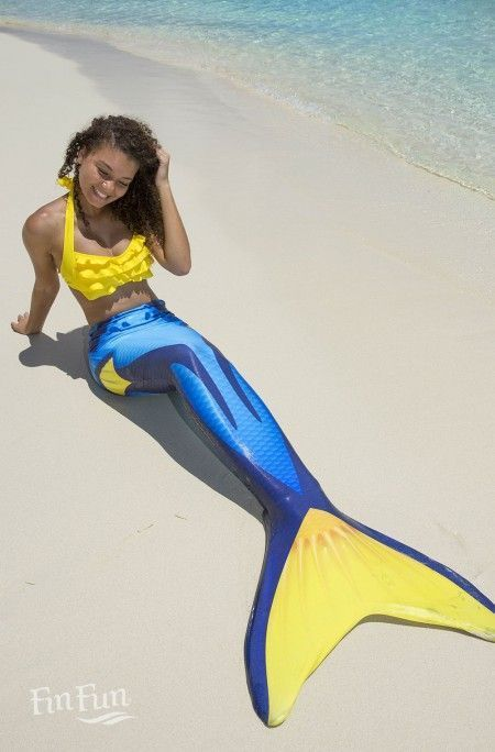 """""""This is pretty darn fantastic"""" We would have too agree, you can be a mermaid too with FinFunMermaid.com"""