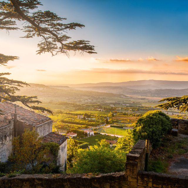 """""""Provence sunset"""" by Alexander Novikov - $6.59"""
