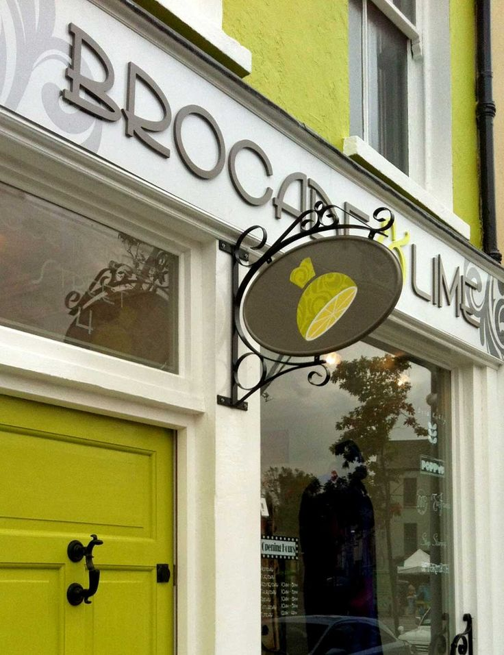 One of our stockists in Cork, Ireland : Brocade and lime Vintage inspired boutique